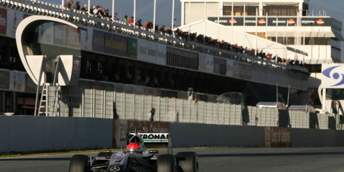 Michael Schumacher Barcelona