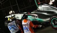 Michael Schumacher Crash GP Singapur 2011