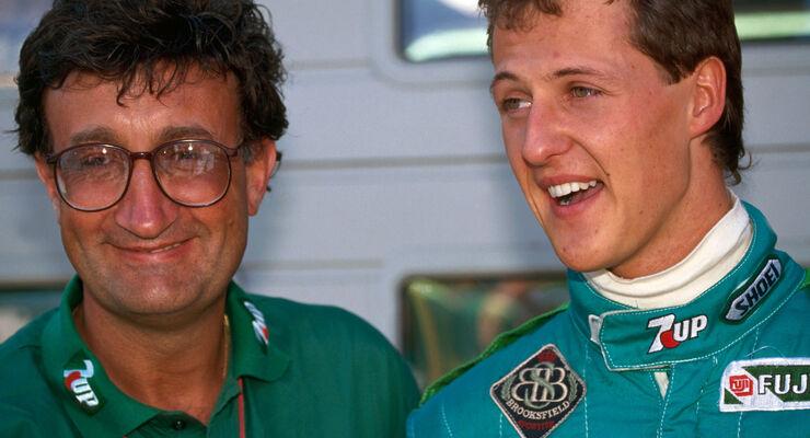 Michael-Schumacher-F1-Debuet-GP-Belgien-