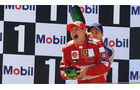 Michael Schumacher - Ferrari - Ralf Schumacher - Williams - Magny-Cours 2001