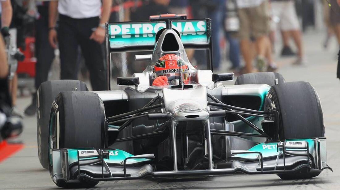 Michael Schumacher - Formel 1 - GP Bahrain - 20. April 2012