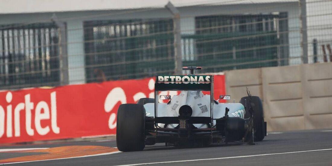 Michael Schumacher - Formel 1 - GP Indien - 27. Oktober 2012