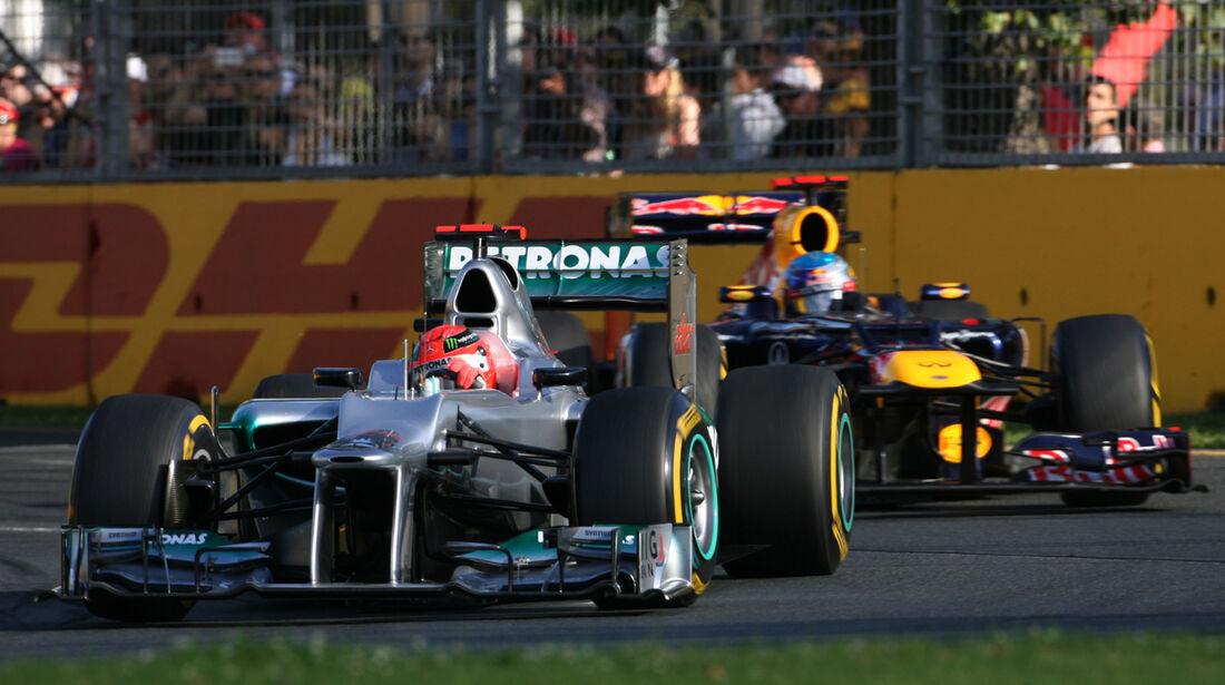 Michael Schumacher GP Australien 2012