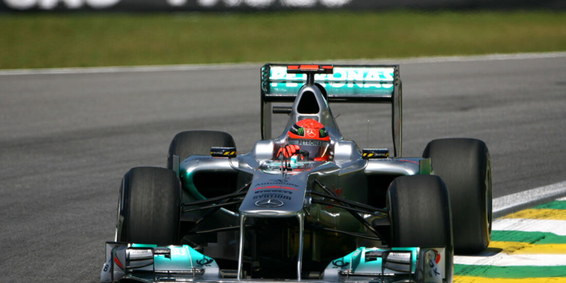 Michael Schumacher - GP Brasilien - 25. November 2011