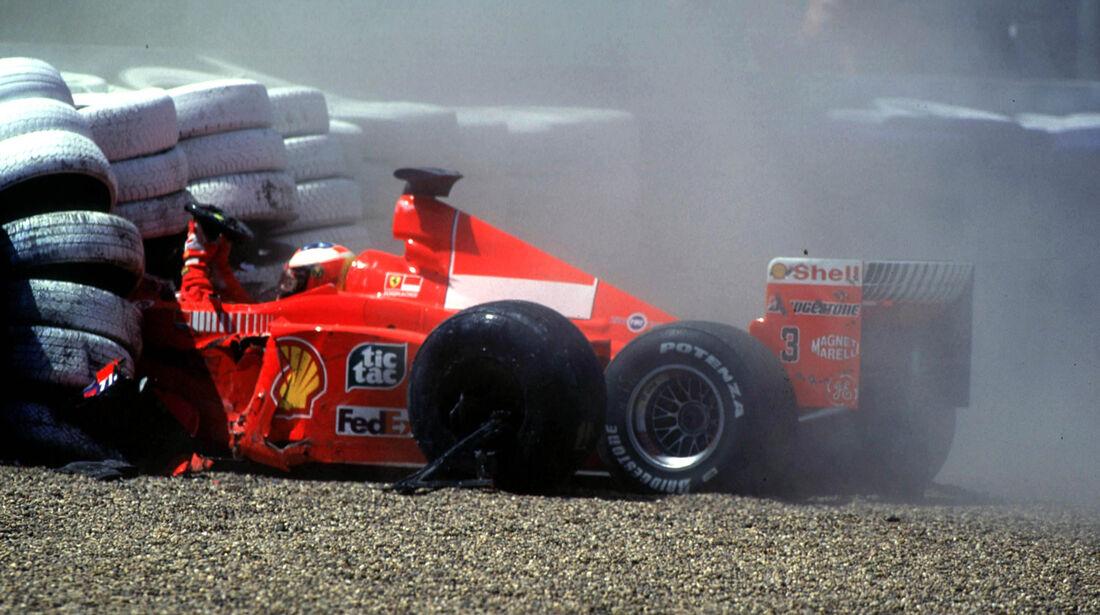 Michael Schumacher - GP England 1999