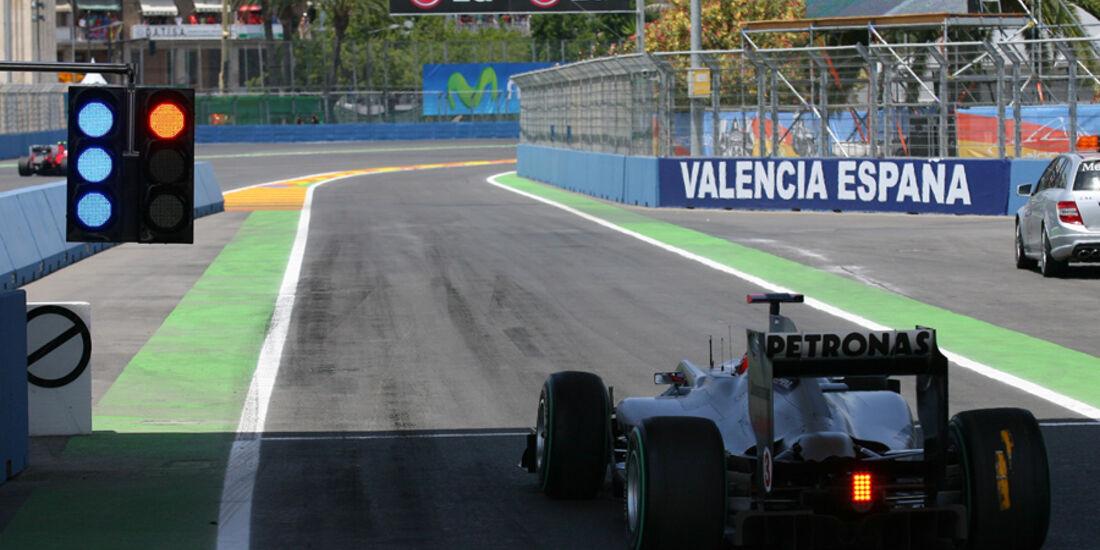 Michael Schumacher GP Europa 2010