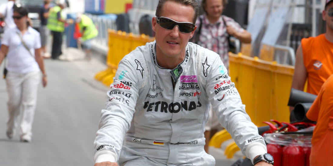 Michael Schumacher GP Europa 2011