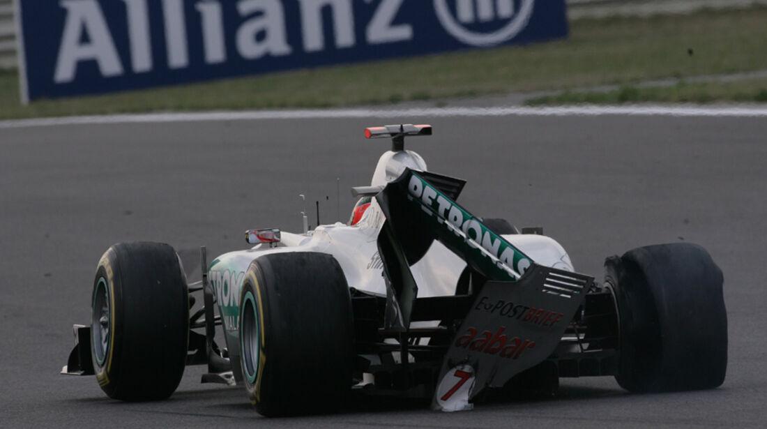 Michael Schumacher GP Korea 2011