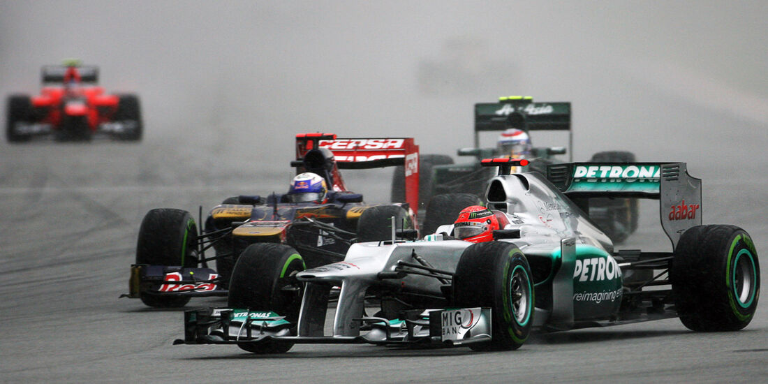 Michael Schumacher GP Malaysia 2012