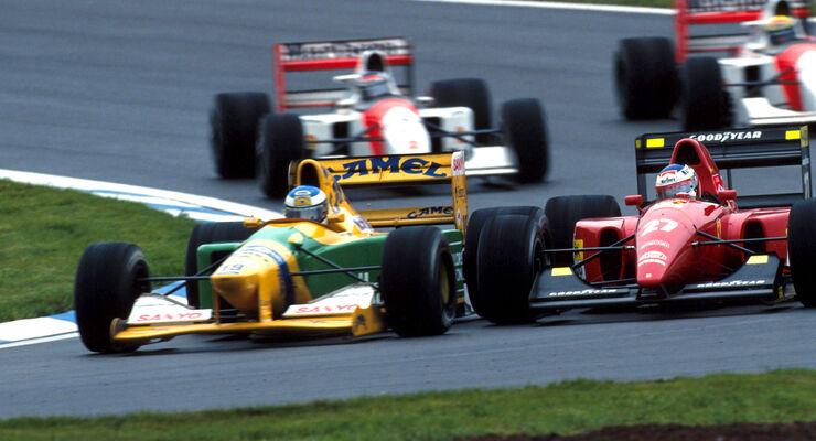 Michael Schumacher - GP Spanien 1992