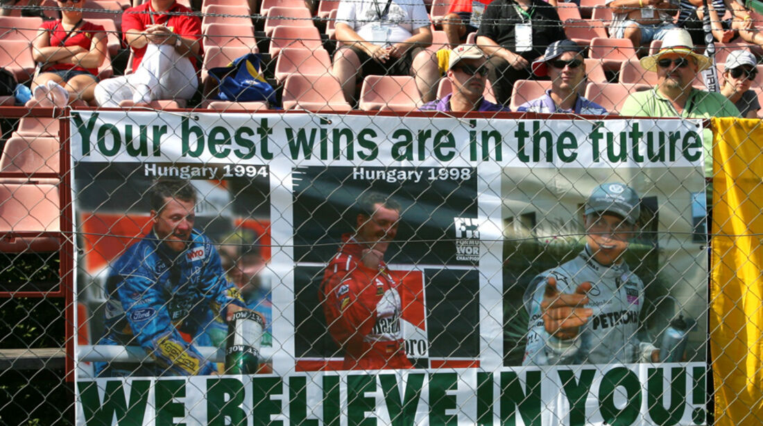 Michael Schumacher GP Ungarn 2010