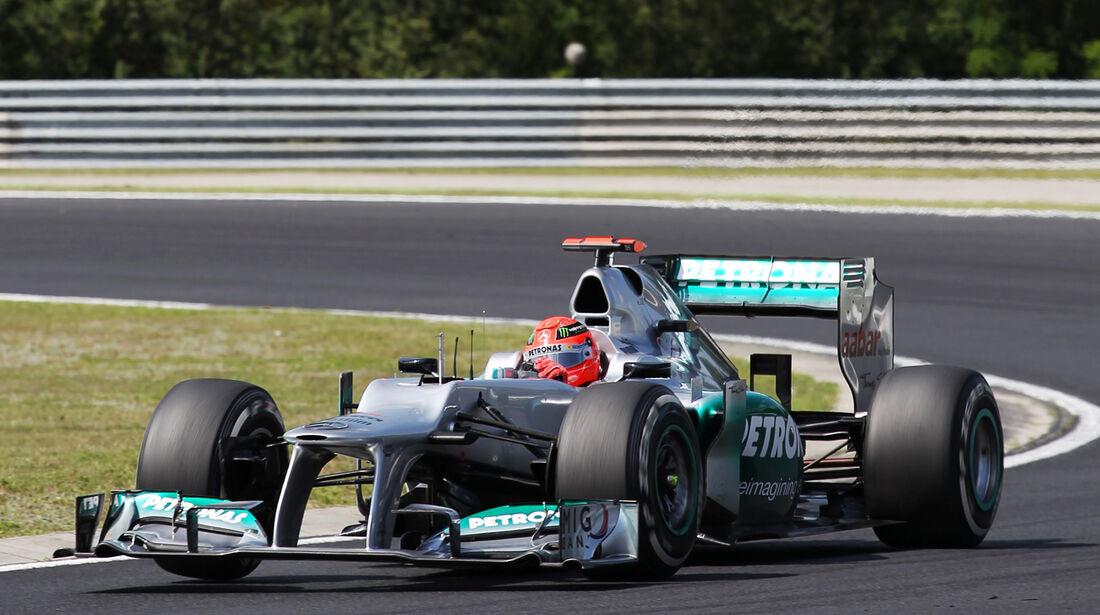 Michael Schumacher - McLaren - Formel 1 - GP Ungarn - Budapest - 27. Juli 2012