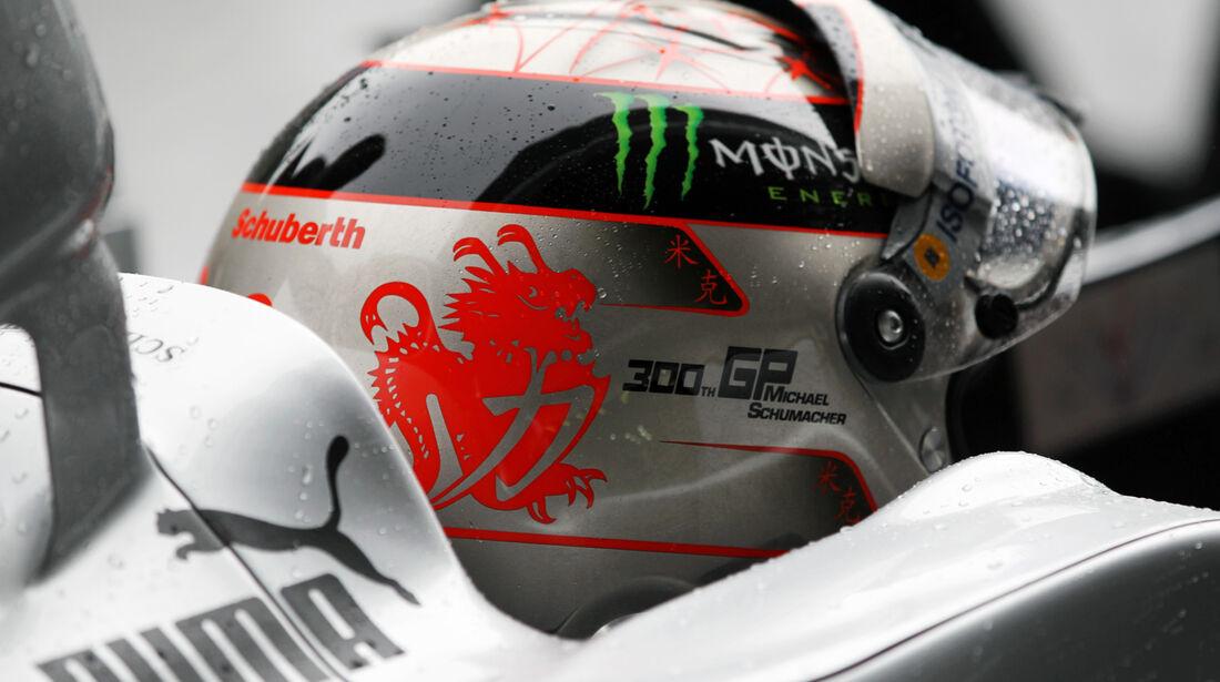 Michael Schumacher - Mercedes - Formel 1 - GP Belgien - Spa-Francorchamps - 31. August 2012
