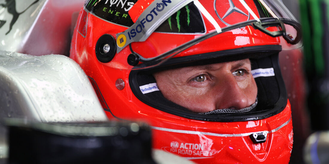 Michael Schumacher - Mercedes - Formel 1 - GP England - Silverstone - 6. Juli 2012
