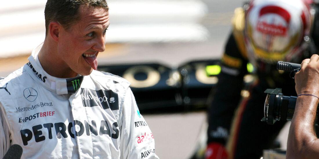 Michael Schumacher - Mercedes - Formel 1 - GP Monaco - 26. Mai 2012