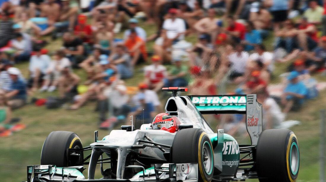 Michael Schumacher - Mercedes - GP Spanien - 12. Mai 2012