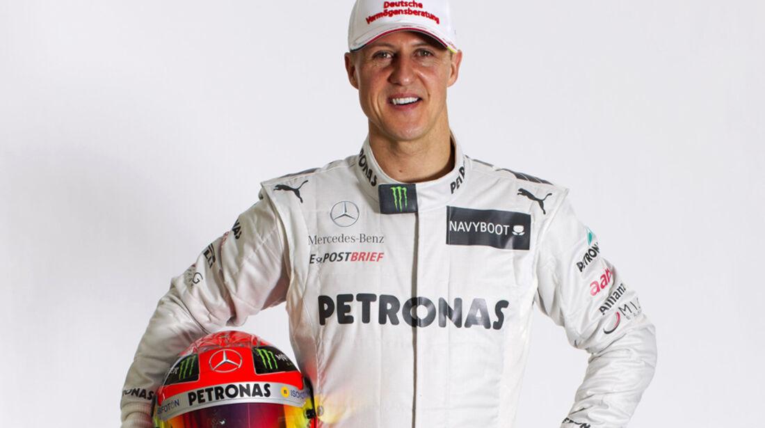 Michael Schumacher Porträt 2012