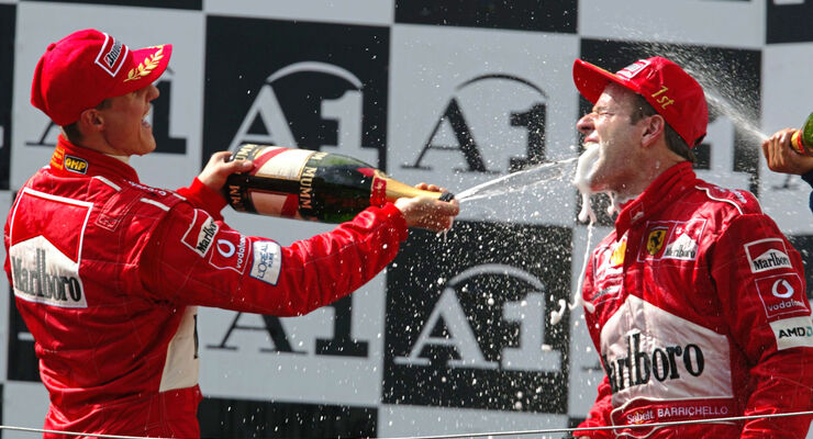 Michael Schumacher - Rubens Barrichello - Ferrari