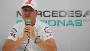 Michael Schumacher Rücktritt GP Japan 2012