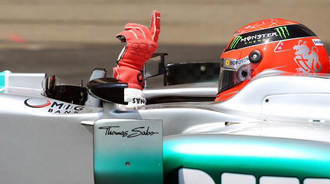 Michael Schumachr - GP Monaco 2012