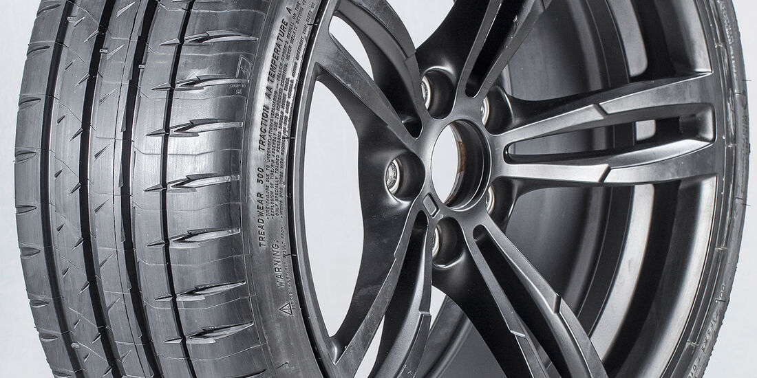 Michelin Pilot Sport 4S - Sommerreifentest 2018 - sport auto