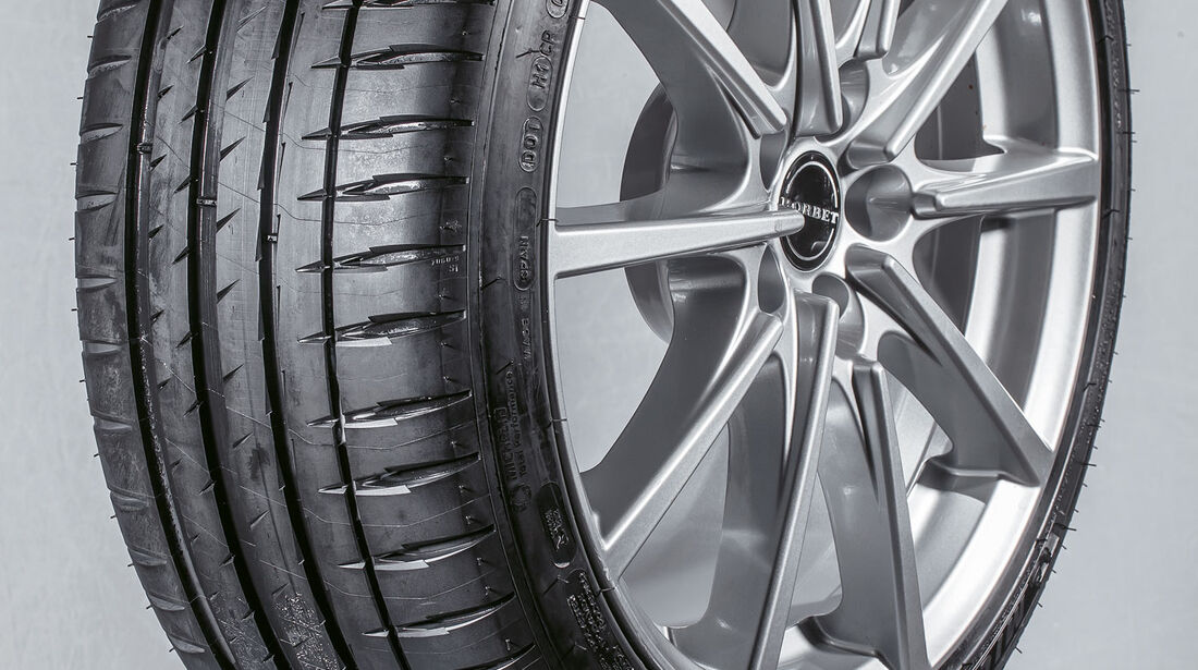 Michelin Pilot Sport PS4 - Sommerreifen 2017 - Test
