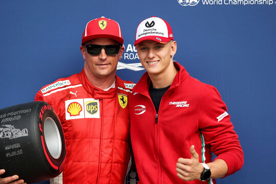 Mick Schumacher & Kimi Räikkönen - Formel 1 - 2018