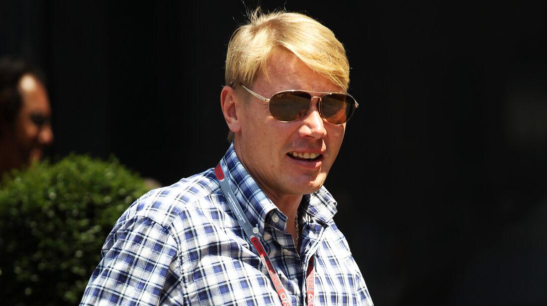 Mika Häkkinen - Formel 1 - GP Monaco - 26. Mai 2012