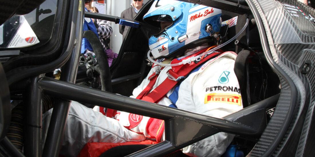 Mika Salo, Ferrari P4/5 Competizione