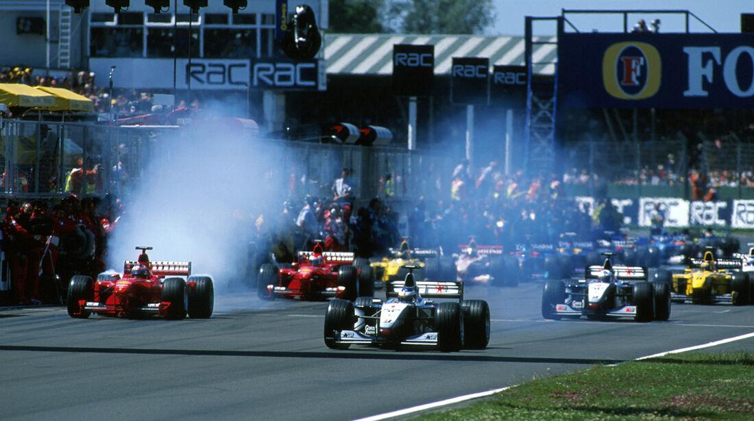 Mikka Hakkinen F1 1999