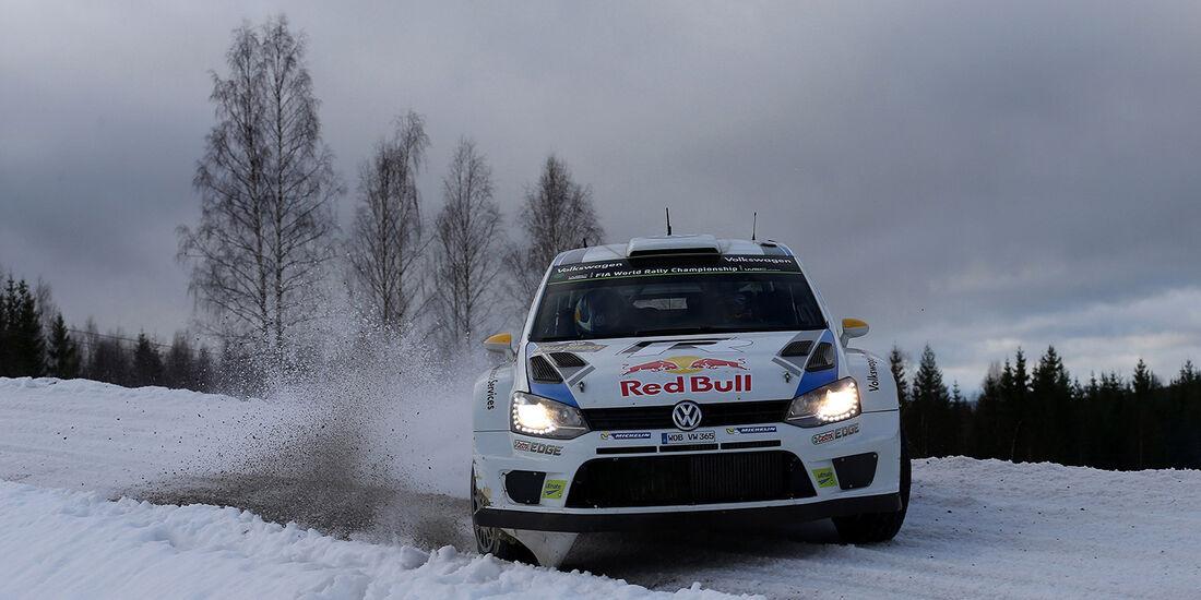 Mikkelsen, WRC, VW Polo R WRC, Rallye Schweden 2014