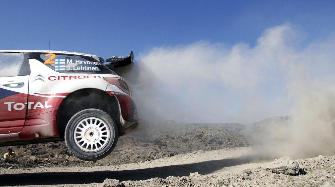 Mikko Hirvonen WRC Rallye Mexiko 2012