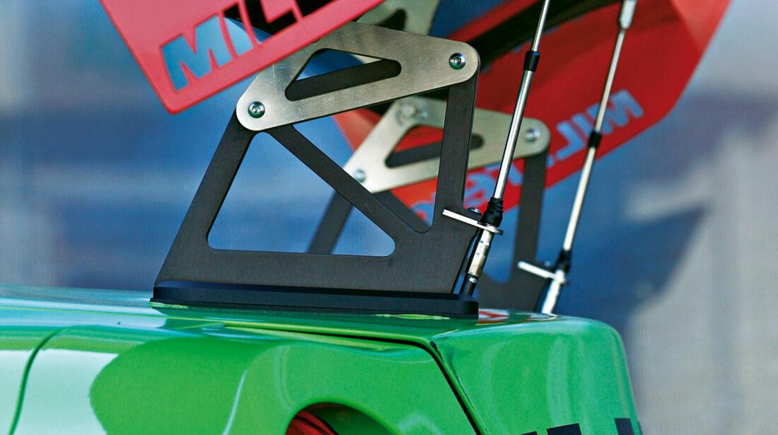 Milltek-Nissan GT-R, Heckspoiler