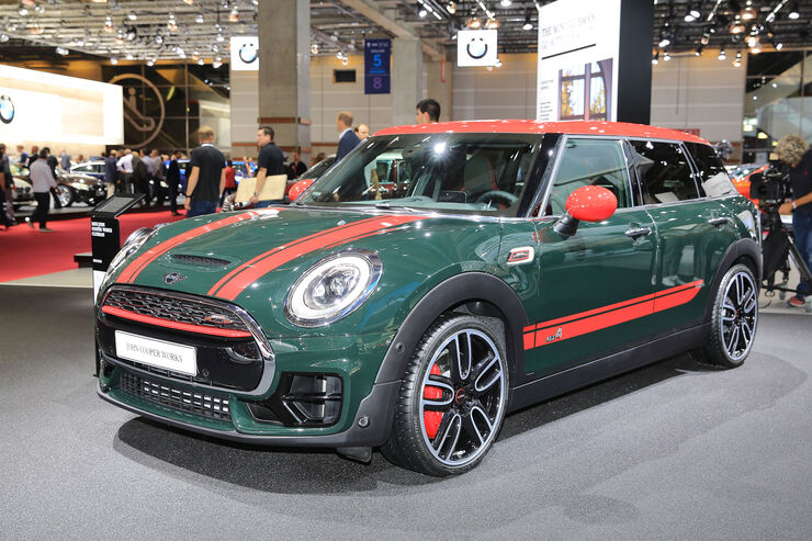 mini clubman john cooper works 2016 auto motor und sport. Black Bedroom Furniture Sets. Home Design Ideas