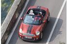 Mini Cooper Roadster, Draufsicht