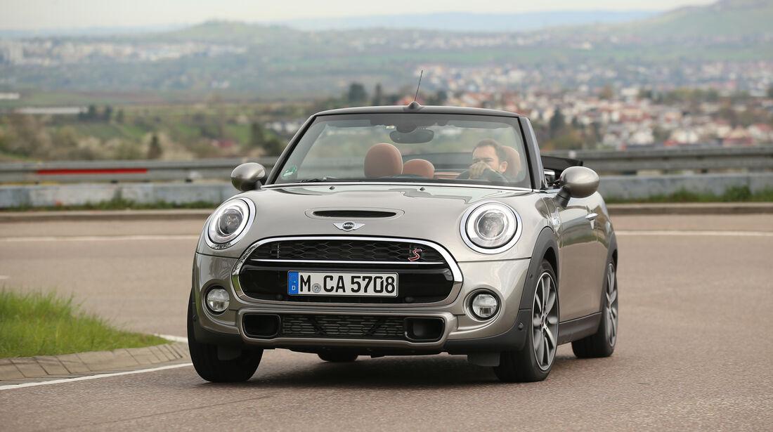 Mini Cooper S Cabrio, Frontansicht