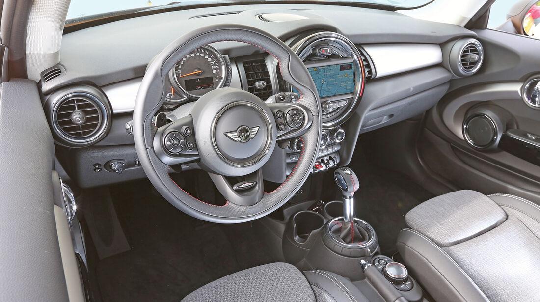 Mini Cooper S, Cockpit