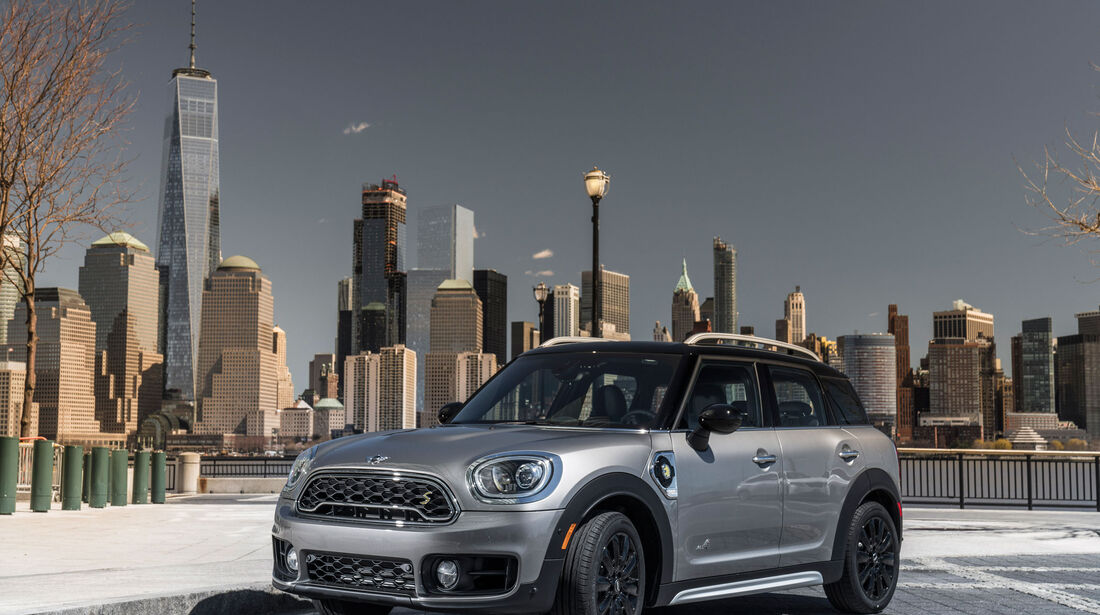 Mini Cooper S E Countryman All4 - Fahrbericht - Plugin-Hybrid - New York