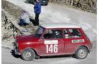 Mini Cooper S bei der Rallye Monte Carlo Historic, 2005.