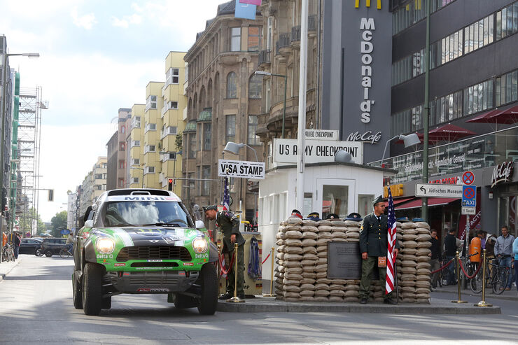 Mini Countryman All4-Prototyp, Checkpoint Charly
