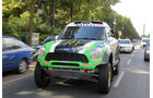 Mini Countryman All4-Prototyp, Frontansicht