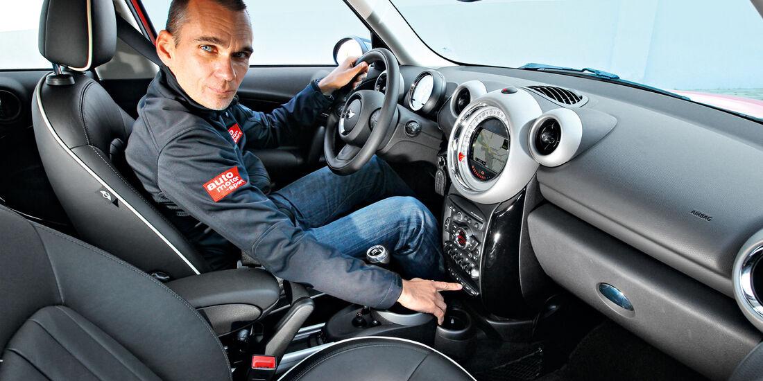 Mini Countryman, Cockpit, Lenkrad