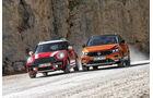 Mini Countryman Cooper D All4, VW T-Roc 2.0 TDI 4Motion Style, Exterieur