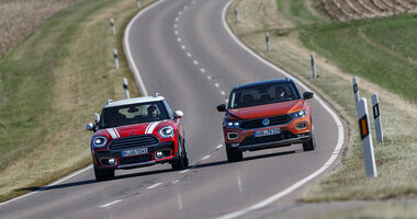 Mini Countryman Cooper D All4, VW T-Roc 2.0 TDI 4Motion Style, Exterieur