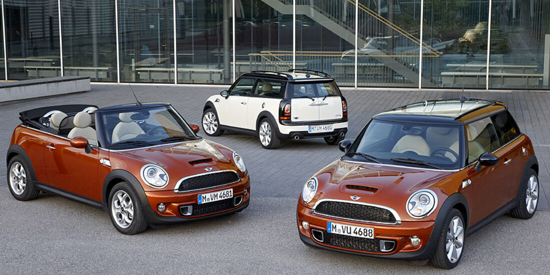 Mini Facelift, Mini Cabrio, Mini, Mini Clubman, Mini-Familie