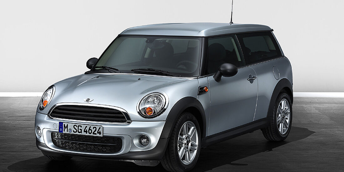 Mini Facelift, Mini One D Clubman