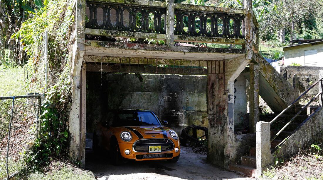 Mini, Frontansicht, Garage