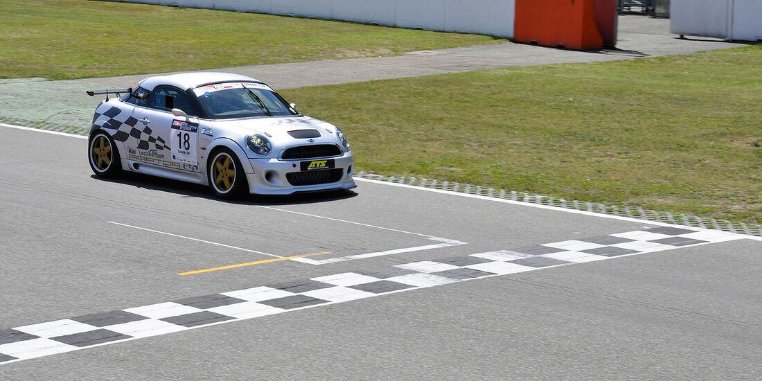 Mini JCW Coupé, Finallauf, TunerGP 2012, High Performance Days 2012, Hockenheimring, sport auto