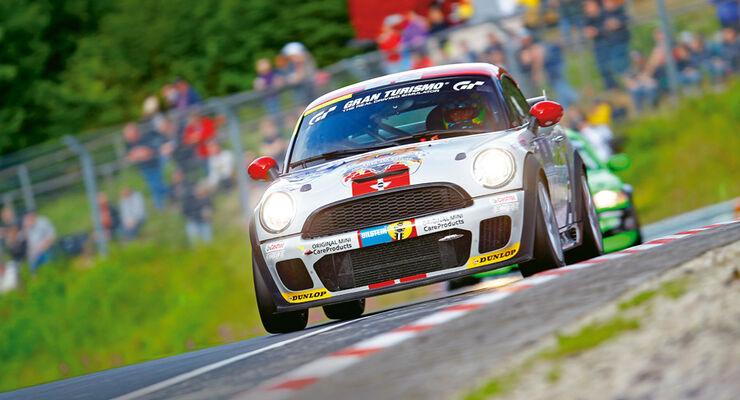 Mini John Cooper Works Coupe Endurance, Frontansicht, Nürburgring