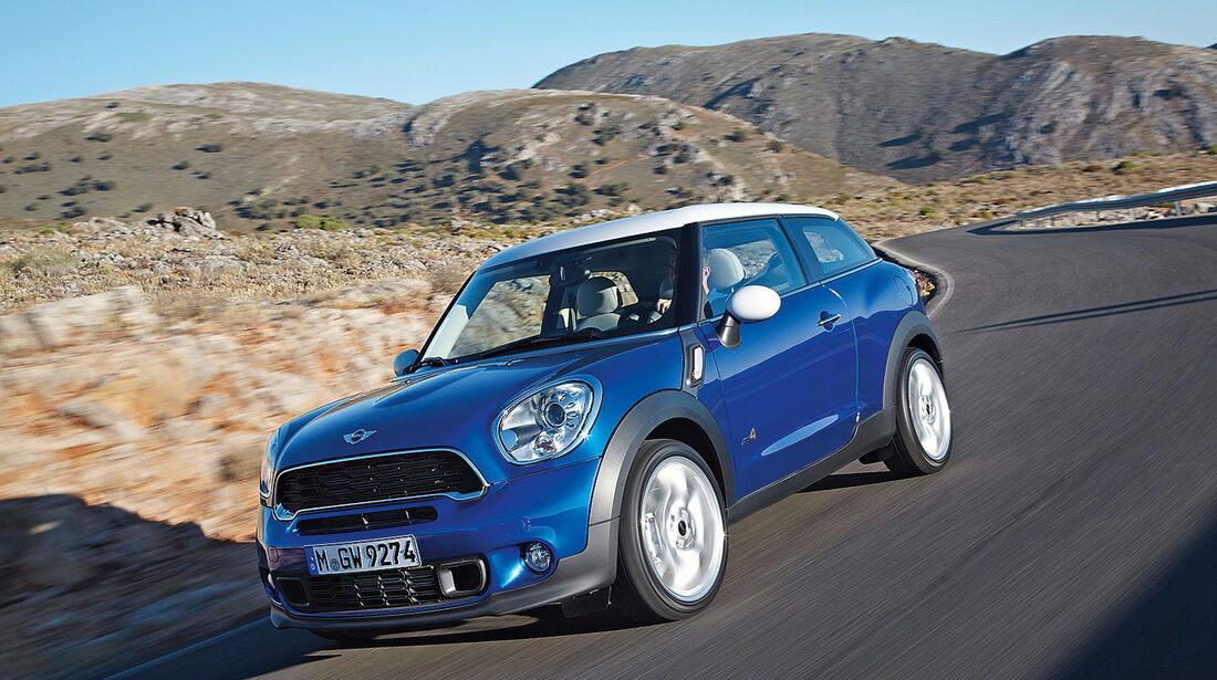 Mini Paceman, Frontansicht
